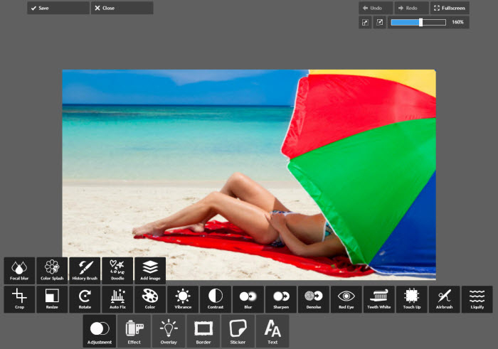 редактор фотографий онлайн pixlr editor